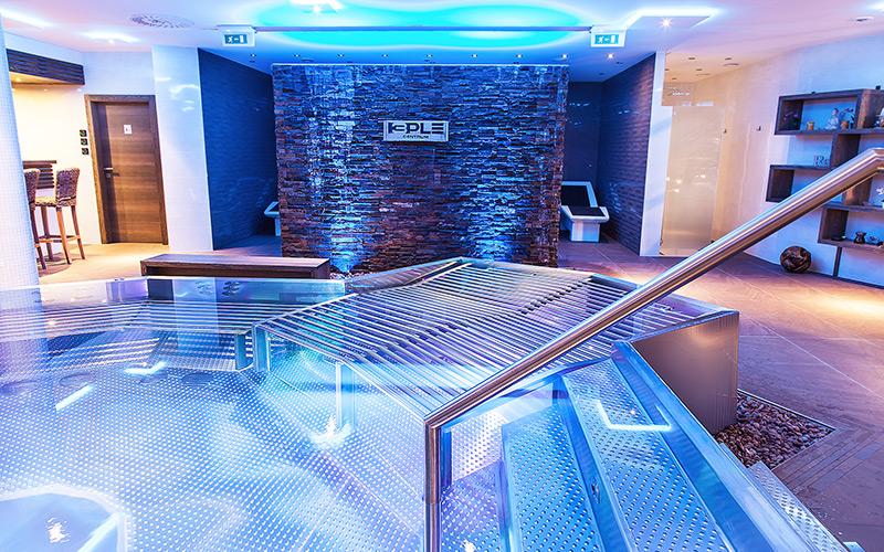 Realizace luxusních komerčních hotelových wellness s nerezovými produkty Imaginox
