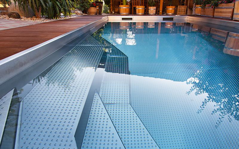 Vysoká kvalita, moderní design, čisté linie- exkluzivní nerezové bazény Imaginox