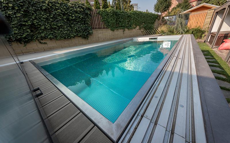 Bazén z nerezové oceli od výrobce Imaginox- obchodní zastoupení Aquamarine Spa