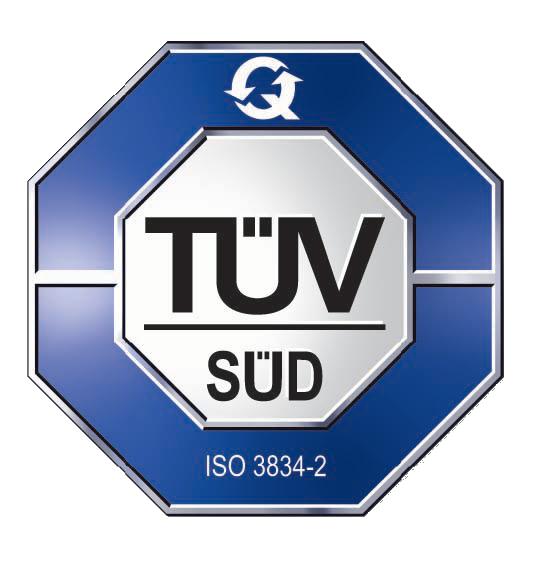 Imaginox TUV Certifikace