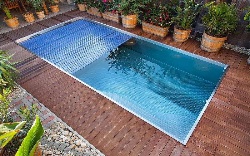 Výměna plastového bazénu za nerezový | IMAGINOX