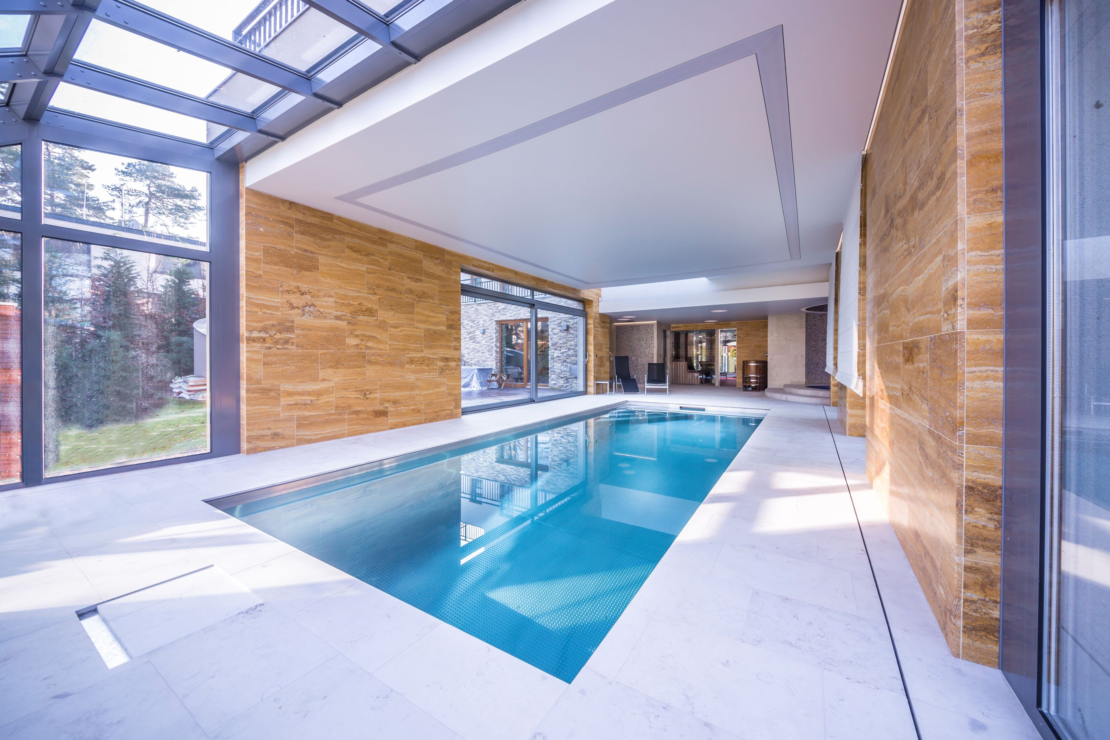 Private Stainless-Steel Wellness Area