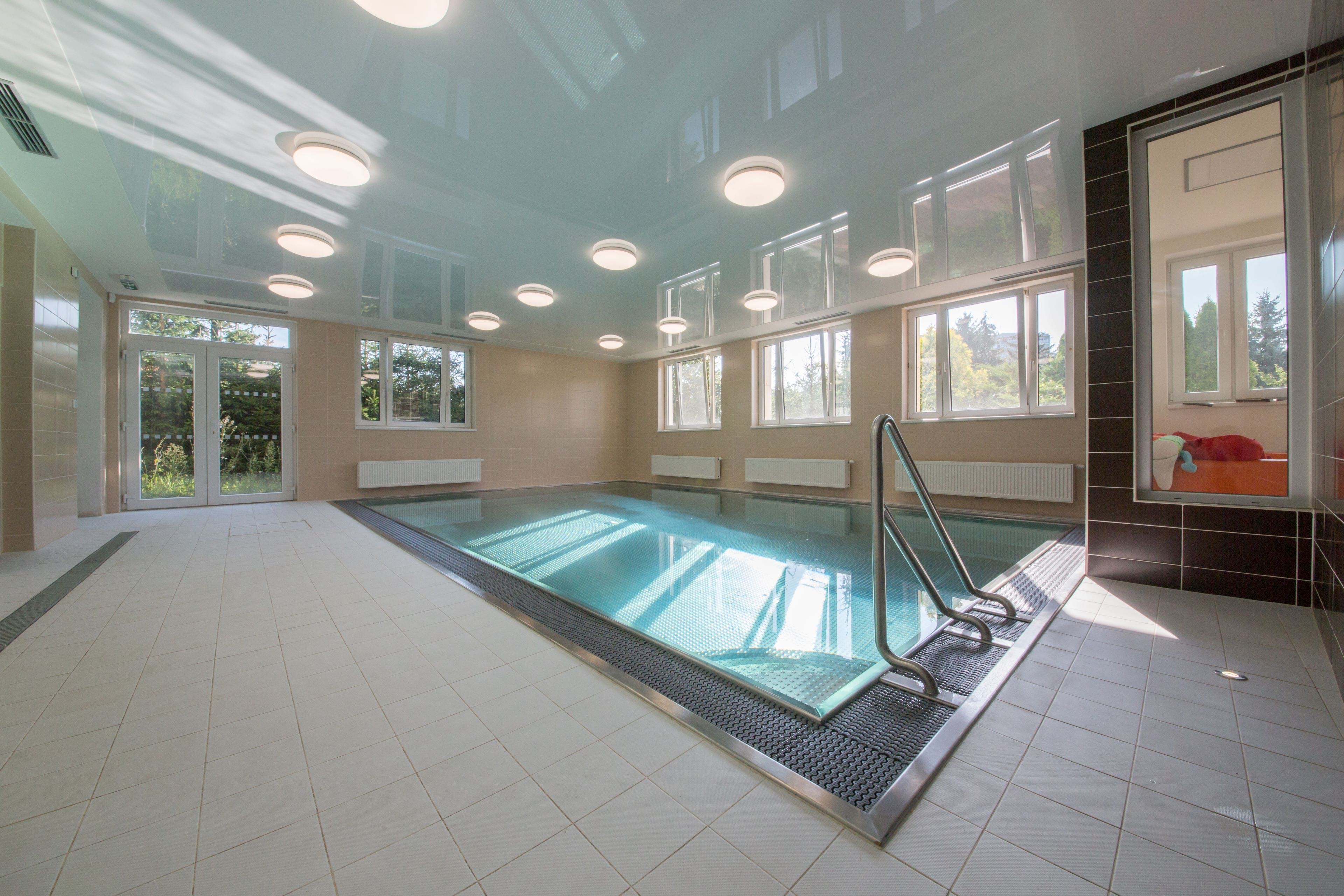 Stainless-Steel Pool in the Centre for Psychosomatic Medicine