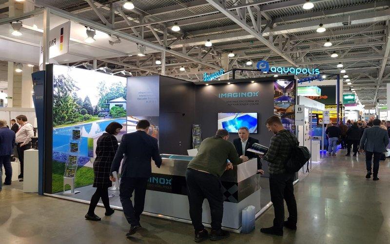 Vystavovali jsme na mezinárodním veletrhu Aquatherm v Moskvě! | IMAGINOX